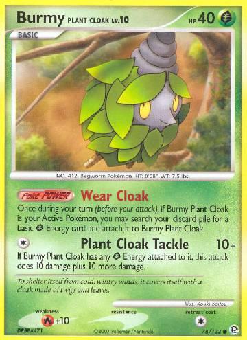 Burmy Plant Cloak (#78/132)