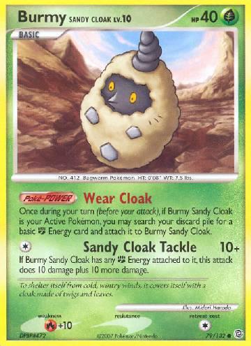 Burmy Sandy Cloak (#79/132)
