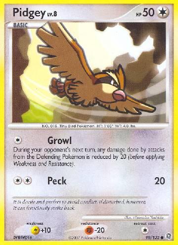 Pidgey (#99/132)