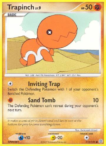 Trapinch (#115/132)