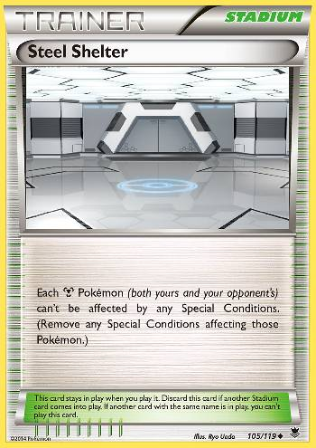 Steel Shelter (#105/119)