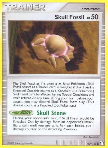 Skull Fossil (#117/124)
