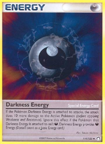 Darkness Energy (#119/124)