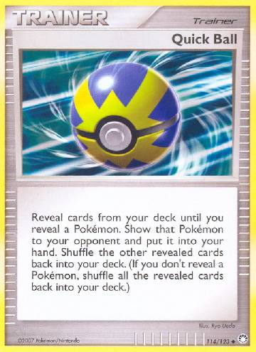 Quick Ball (#114/124)
