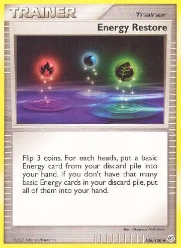 Energy Restore (#106/130)