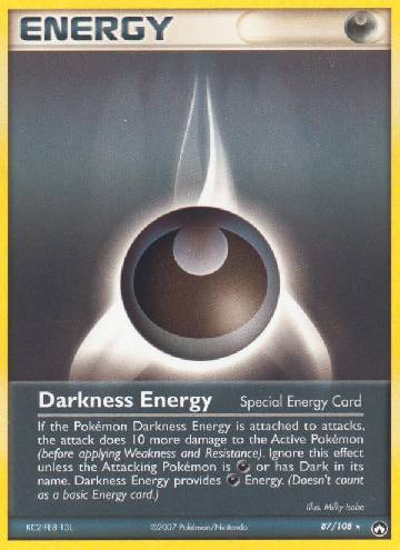 Energia de Escuridão / Darkness Energy (#87/108)