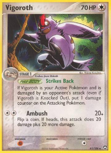 Vigoroth (#41/108)