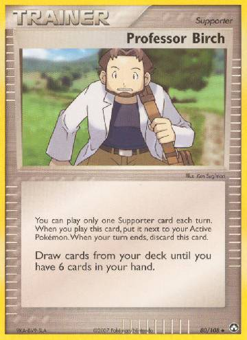 Professor Birch (#80/108)