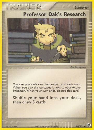 Professor Oak's Research (#80/101)