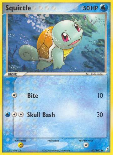 Squirtle (#63/100)
