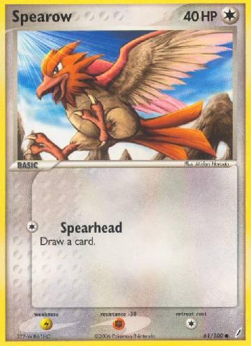Spearow (#61/100)