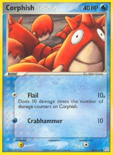 Corphish (#63/111)