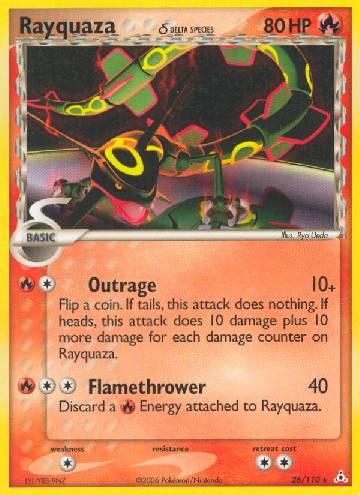 Rayquaza (#26/111)