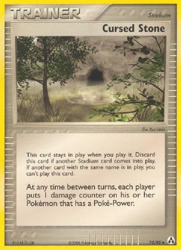 Cursed Stone (#72/93)