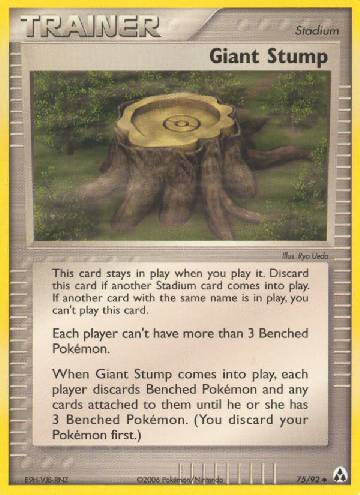 Giant Stump (#75/93)