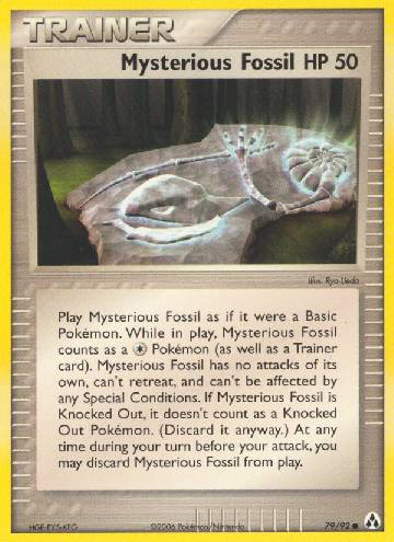 Mysterious Fossil (#79/93)