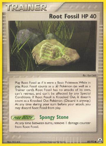 Root Fossil (#80/93)