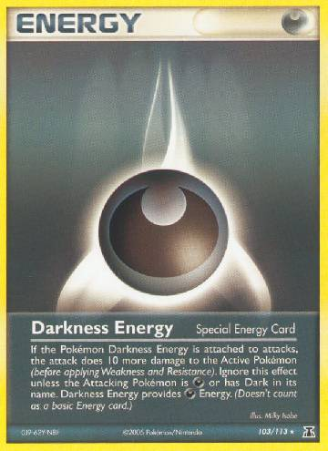 Energia de Escuridão / Darkness Energy (#103/114)
