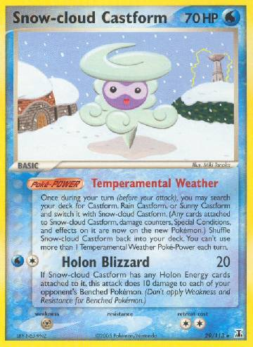 Snow-cloud Castform (#29/114)