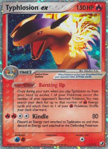 Typhlosion ex (#110/145)