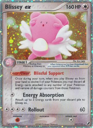 Blissey ex (#101/145)