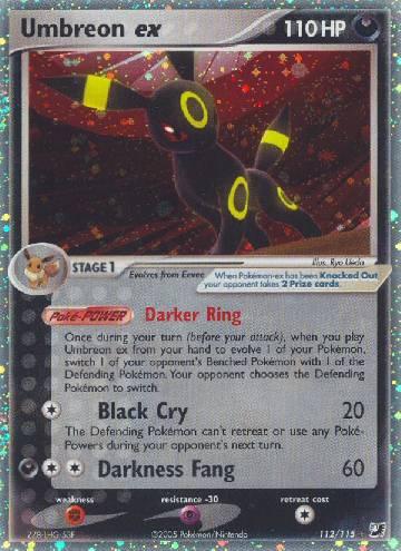 Umbreon ex (#112/145)