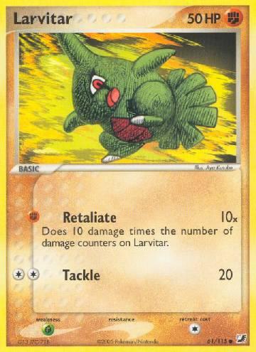 Larvitar (#61/145)