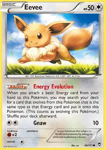 Eevee (#80/111)