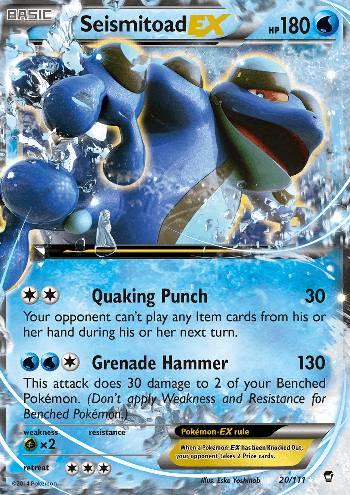 Seismitoad-EX (#20/113)