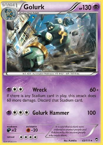 Golurk (#43/111)