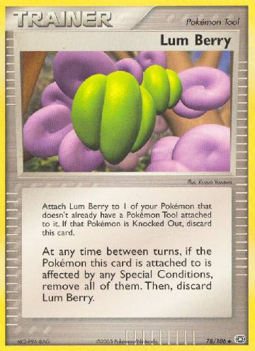 Lum Berry (#78/107)