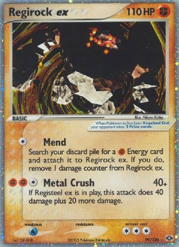 Regirock ex (#99/107)