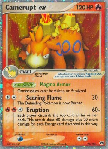 Camerupt ex (#92/107)