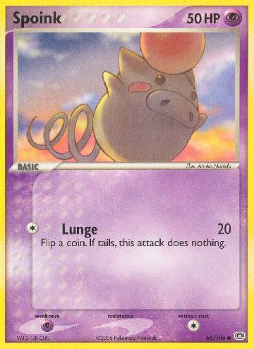 Spoink (#66/106)