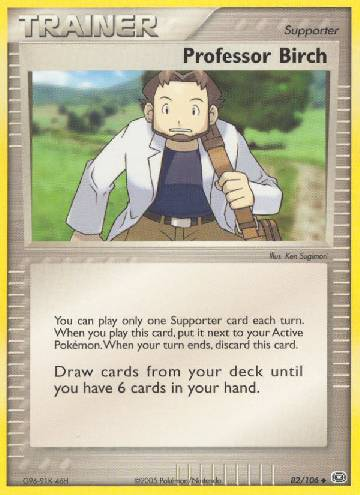 Professor Birch (#82/106)