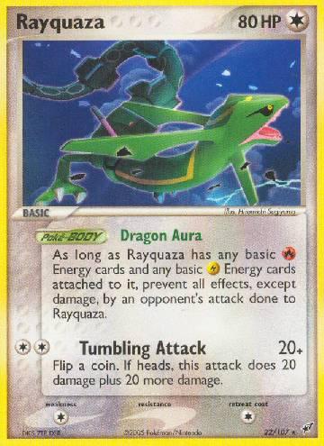 Rayquaza (#22/108)
