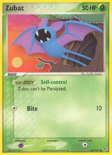 Zubat (#83/108)