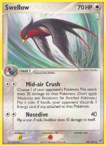 Swellow (#49/108)