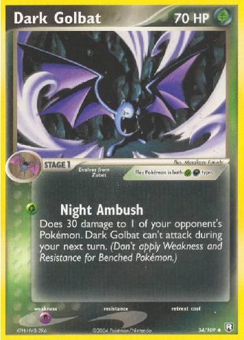 Dark Golbat (#34/111)