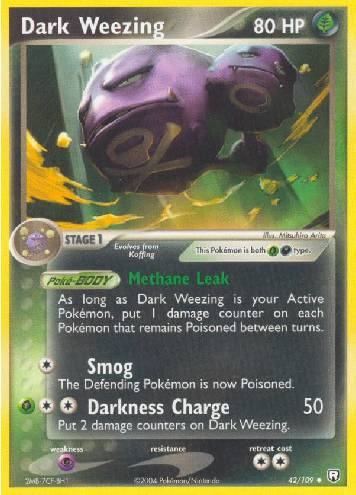 Dark Weezing (#42/111)