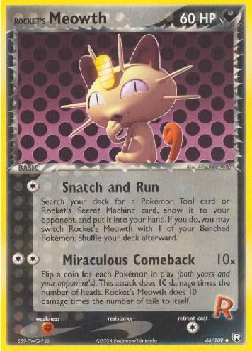 Rocket's Meowth (#46/111)