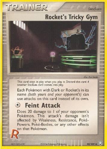 Rocket's Tricky Gym (#90/111)