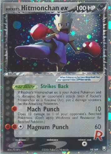 Rocket's Hitmonchan ex (#98/111)