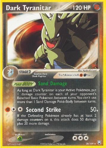 Dark Tyranitar (#20/111)