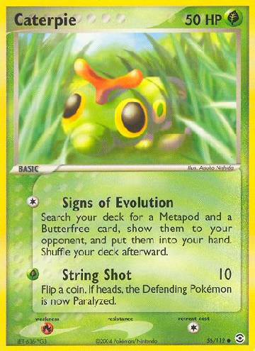 Caterpie (#56/116)