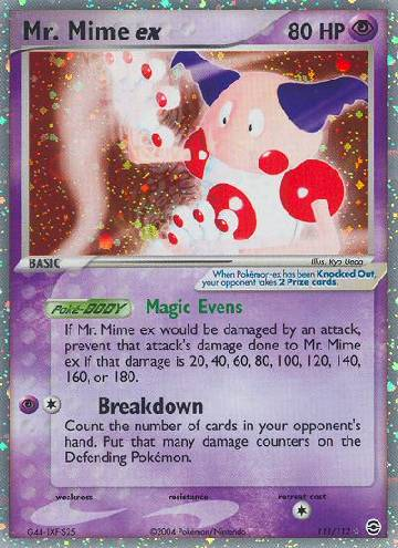 Mr. Mime ex (#111/116)