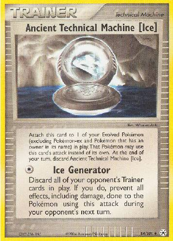 Ancient Technical Machine Ice (#84/102)