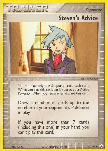 Steven's Advice (#92/102)
