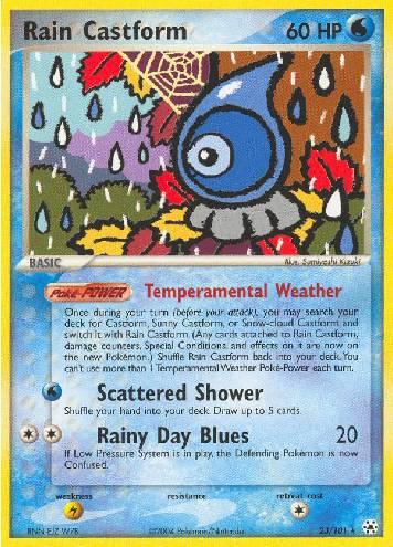 Rain Castform (#23/102)