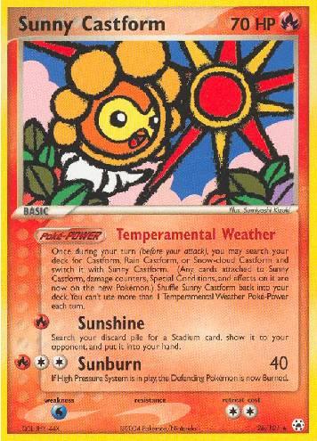Sunny Castform (#26/102)